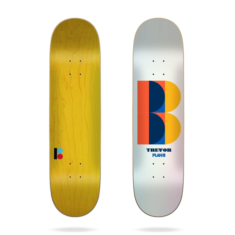 "plan b trevor deco 8.3"" skateboard deck"