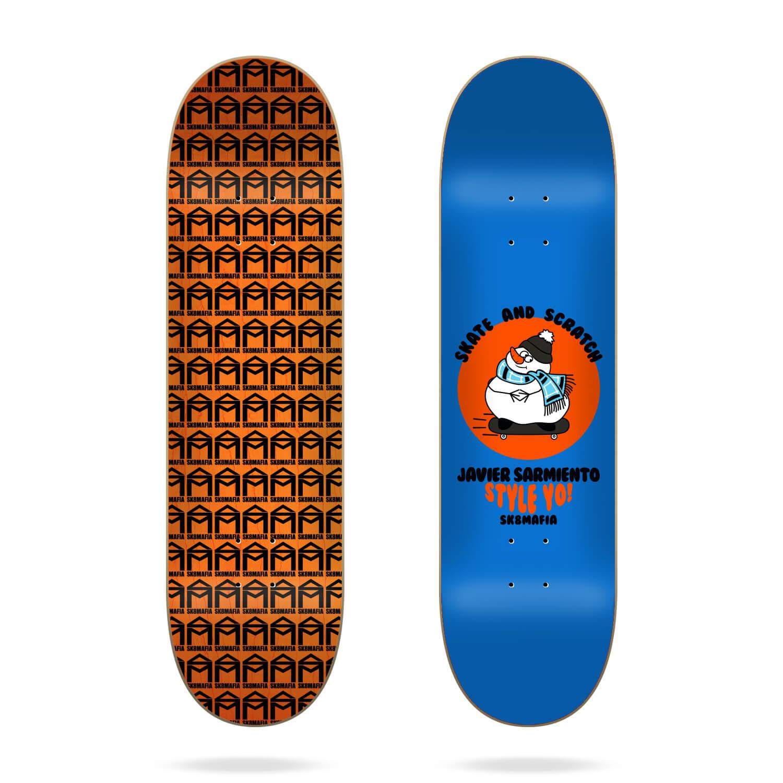 "Sk8mafia Sarmiento Skate And Scratch 7.75"" deckskate and scratch 7.75"" deck"
