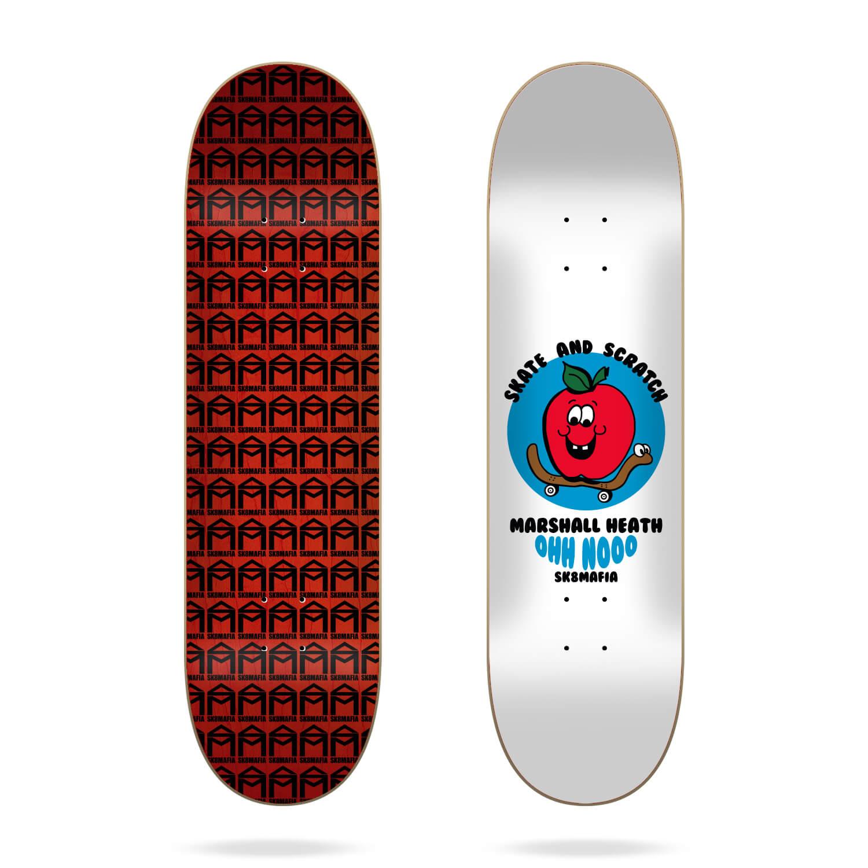 "sk8mafia marshall heath skate and scratch 8.1"" deck"