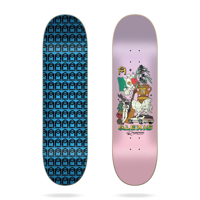 "sk8mafia style ramirez 8.5"" deck"
