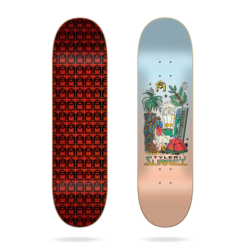 """sk8mafia style surrey 8.25"""" deck"""