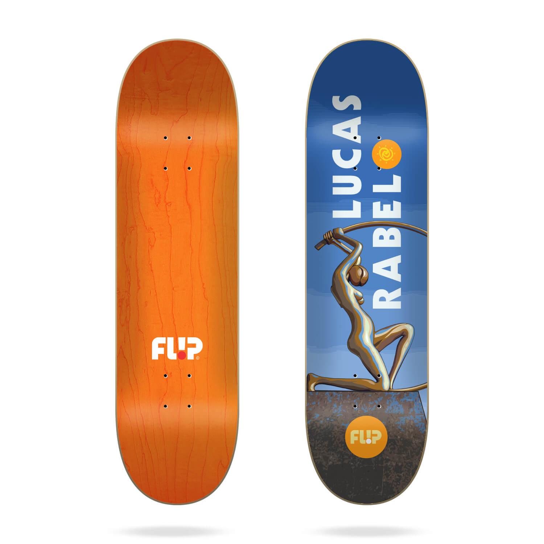 """Flip Rabelo Statue 8.0"""" deck"""
