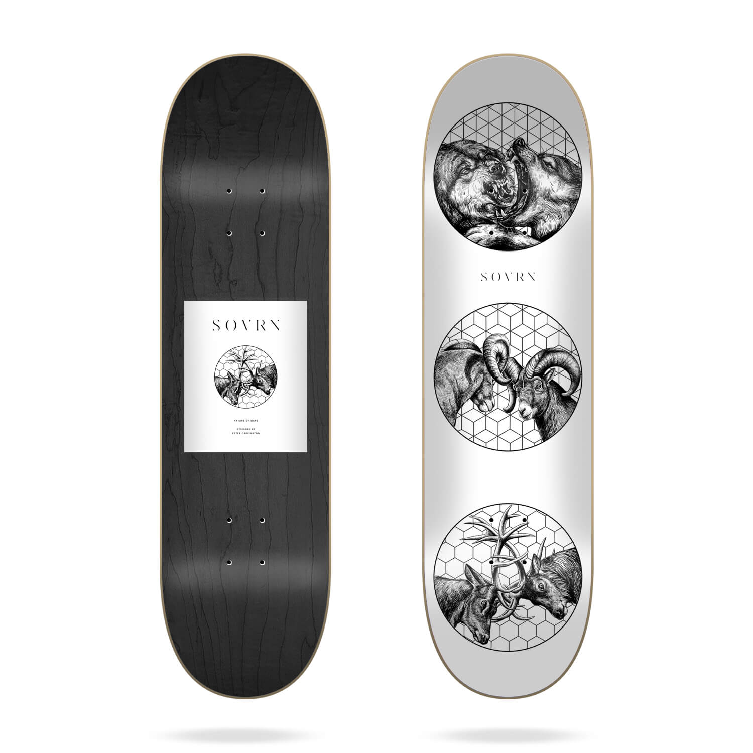 "Sovrn Nature Of Wars 8.38"" Deck"