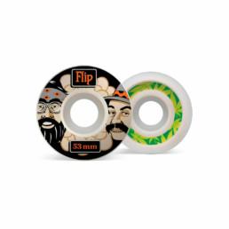 Flip Cutback Cheech & Chong 53mm 99A wheels pack