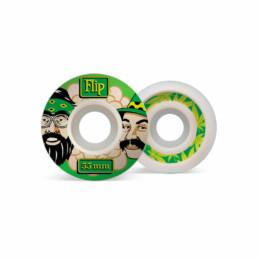 Flip Cutback Cheech & Chong 55mm 99A wheels pack