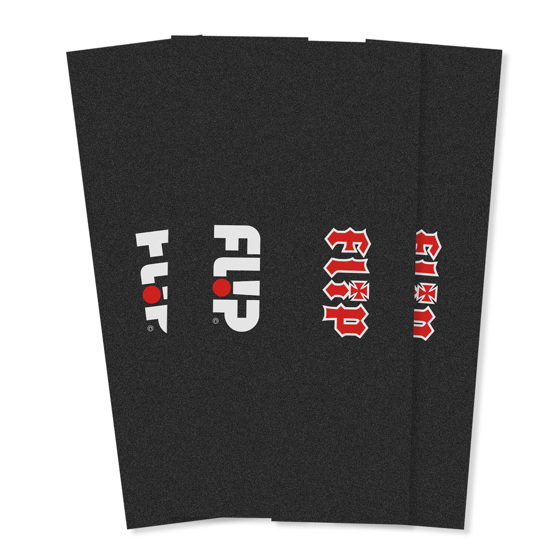 """Flip Logo 9"""" griptape 4 pack"""