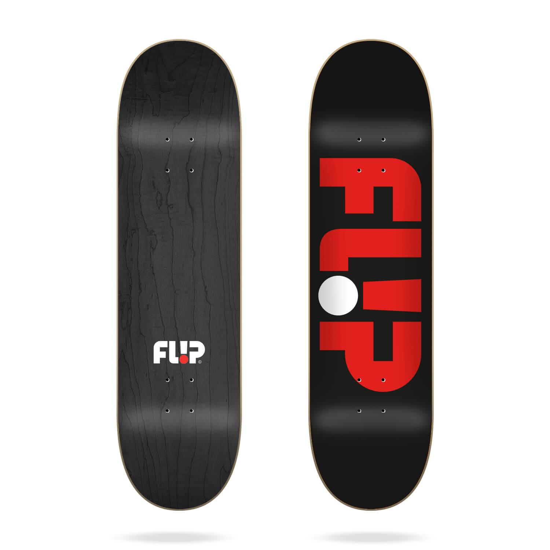 Flip Odyssey Logo Skateboard Deck Black 8.50
