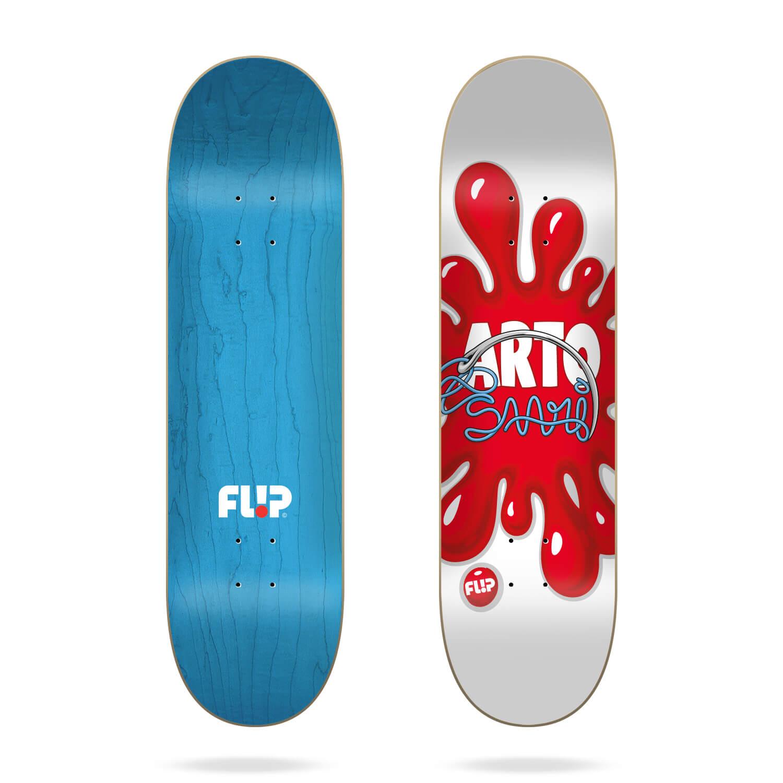 "Flip Saari Splat White 8.45"" deck"