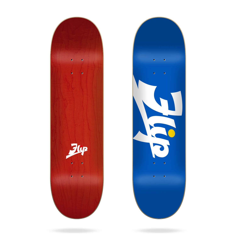 "Flip Script Blue 8.25"" deck"