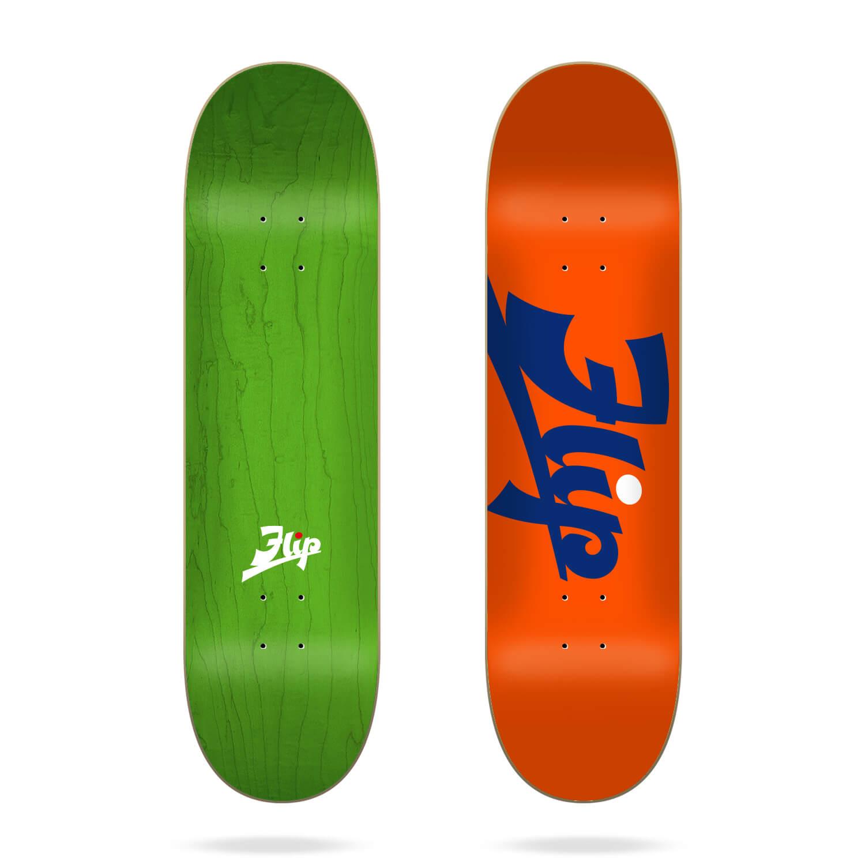 "Flip Script Orange 8.45"" deck"