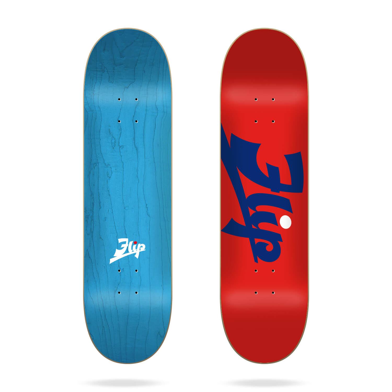 "Flip Script Red 8.13"" deck"