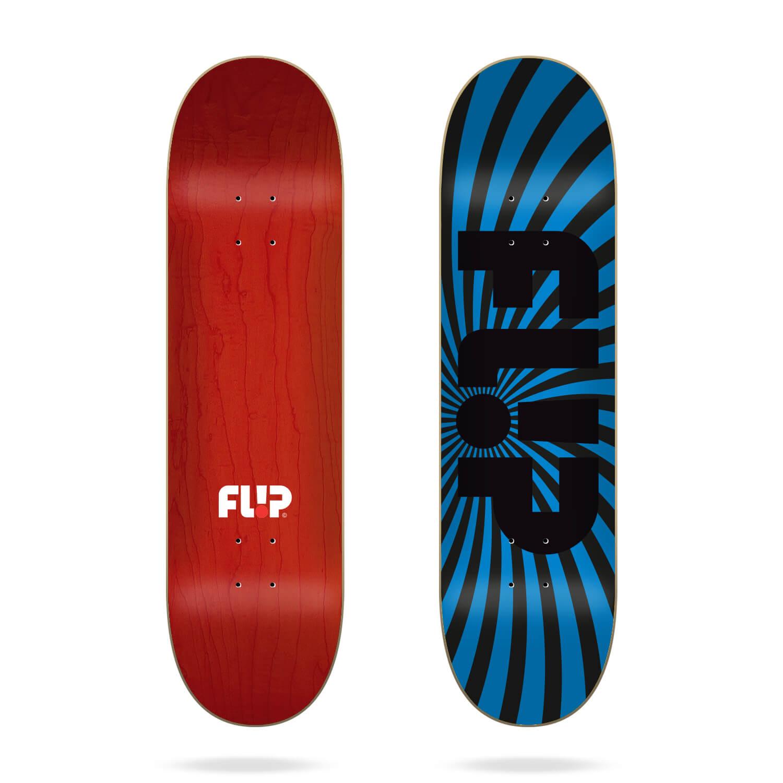 """Flip Spiral Blue 8.13"""" deck"""