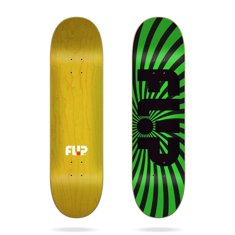 "Flip Spiral Green 8.0"" deck"