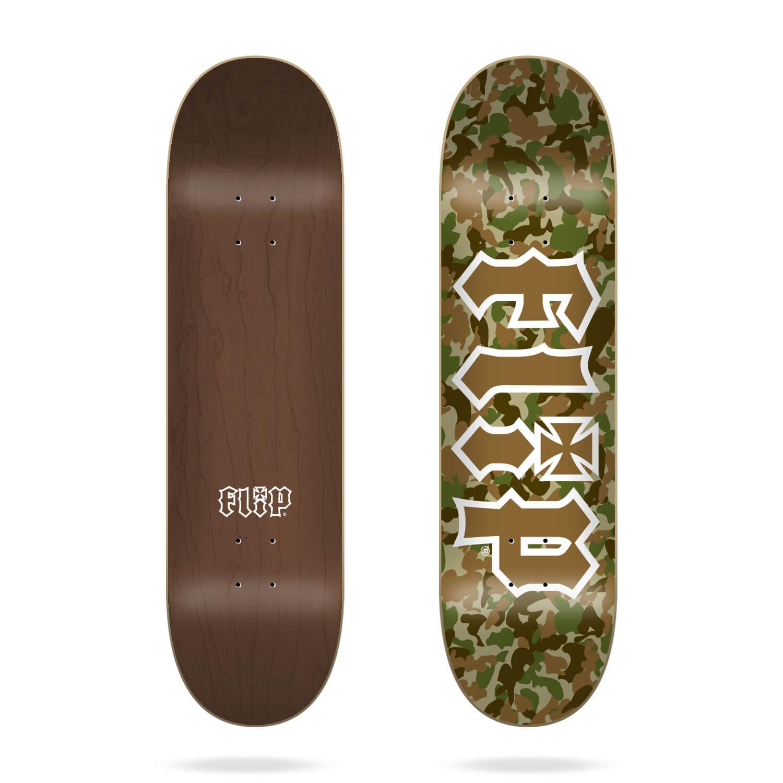 """Flip Team Combat Brown 8.0"""" deck"""