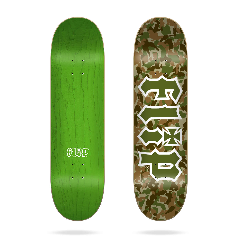"Flip Team Combat Green 8.25"" deck"