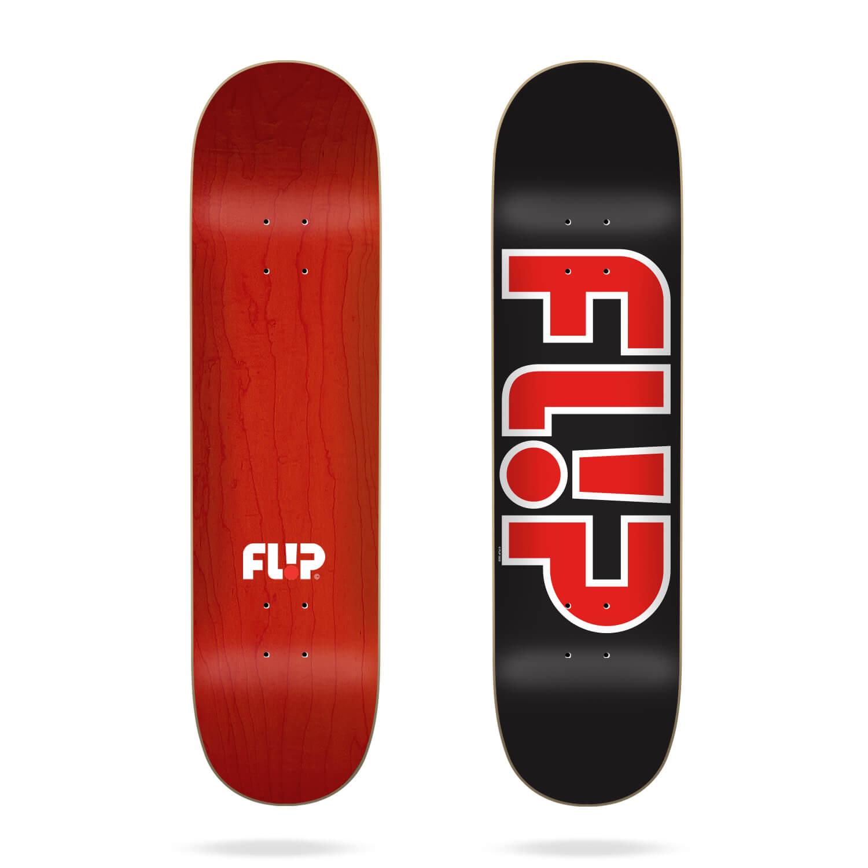 """Flip Team Outlined Black 8.5"""" deck"""