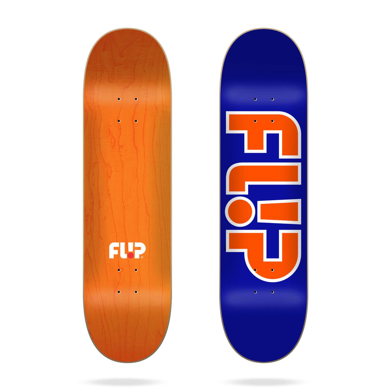 """Flip Team Outlined Blue 8.25"""" deck"""