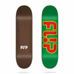 Flip Team Outlined Green 8.25