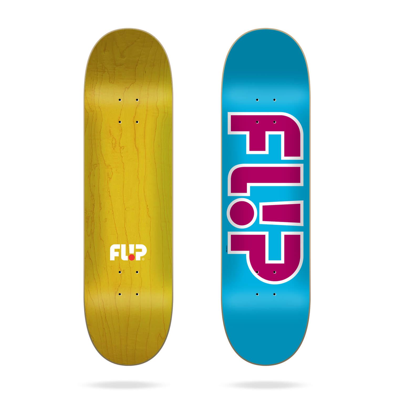 """Flip Team Outlined Light Blue 8.13"""" deck"""