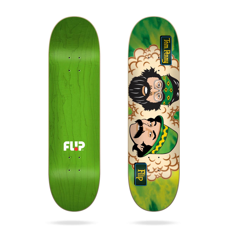 "Flip Tom Friends Green Room 8.25"" deck"