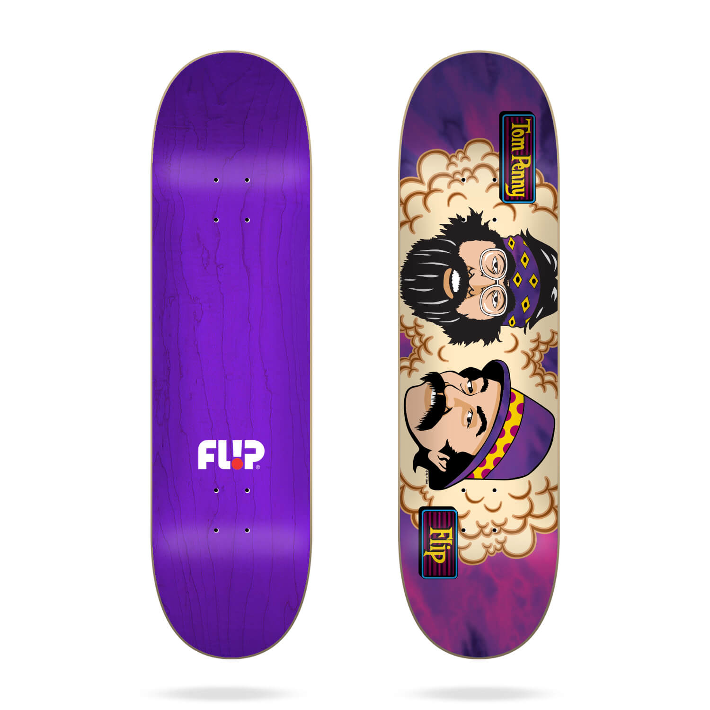 "Flip Toms Friends Purple Haze 8.13"" deck"