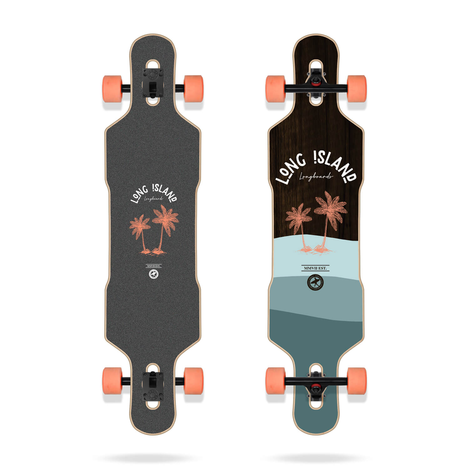 "Long Island Stamp 41.65"" Drop Longboard"