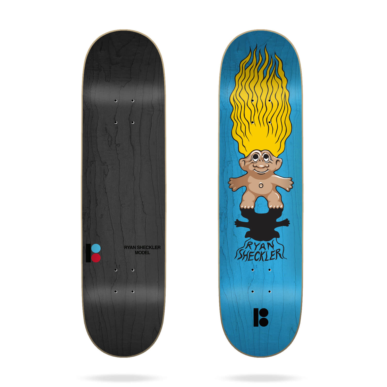 "Plan B Sheckler Trolls 8.0"" Deck"