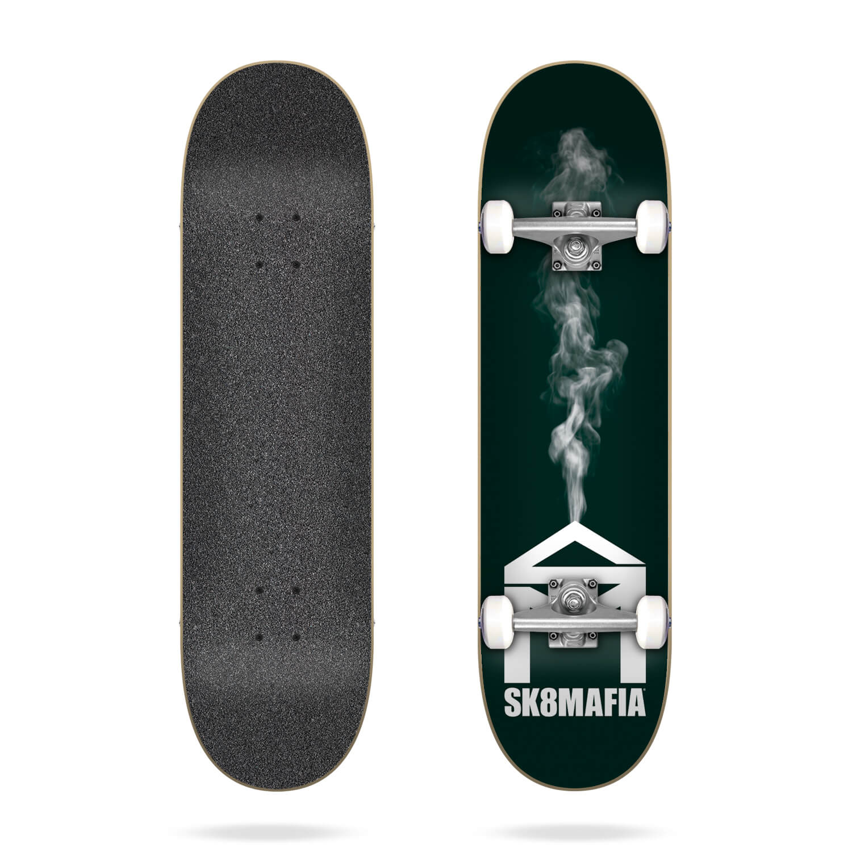 "Sk8mafia House Logo Smoke Smoke 7.87"" Complete"