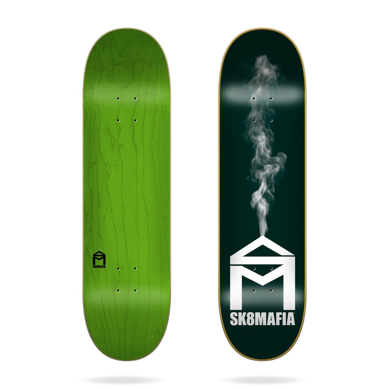 """Sk8mafia House Logo Smoke 8.25"""" Deck"""