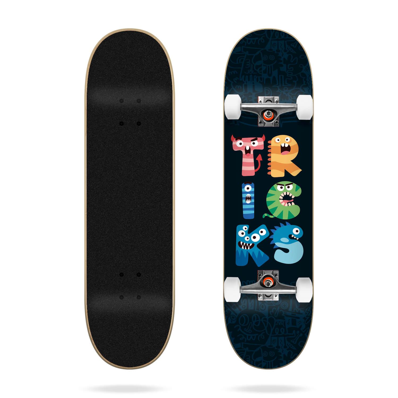 "Tricks Monsters 7.25"" MC Skateboard Complete"