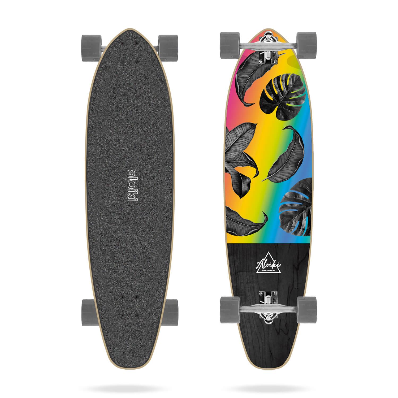 "Aloiki Nosara 36.5"" Kicktail Longboard"