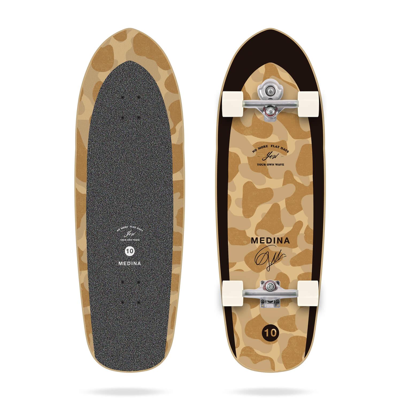 "Yow Medina Camo 33.5"" Signature Series Surfskate"