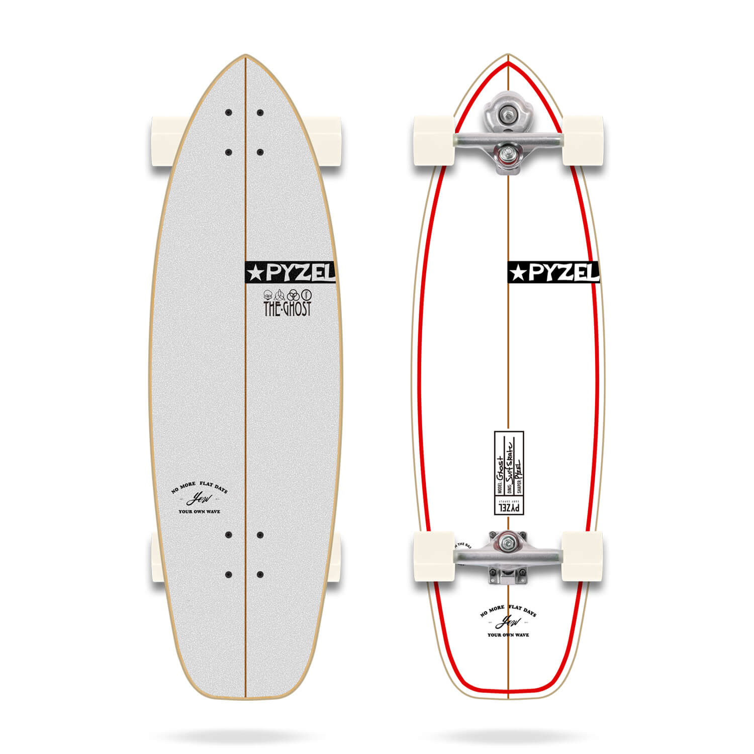 """Yow x Pyzel Ghost 33.5"""" Signature Series Surfskate"""